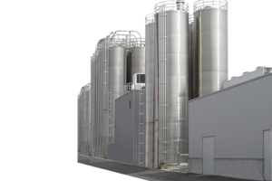 Tile view outdoor silos